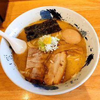 ゆず塩ラーメン(麺屋 新三)