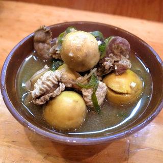 鶏モツの煮込み カレー風味(こたつ屋 )