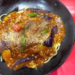 麻婆茄子炸醤麺