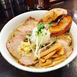 肉そば(塩)(肉そば総本山神保町けいすけ )