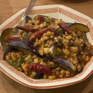 麻婆茄子(中国料理 もみぢ)