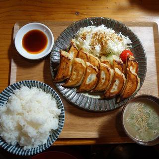 餃子定食(一鉄)