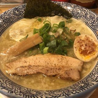 しおワンタン麺(ラーメン ASAHI)