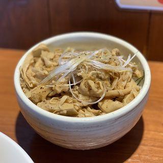 丼ランチ メンマ丼