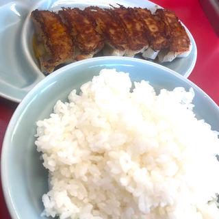 餃子とライス(ラーメン山岡家 南2条店)