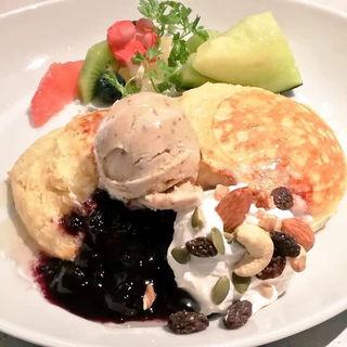 Heavenly Pancake Course 天上のヴィーガンパンケーキコース(アインソフ ジャーニー (AINSOPH.JOURNEY))