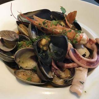 魚介のペスカトーラロッソ