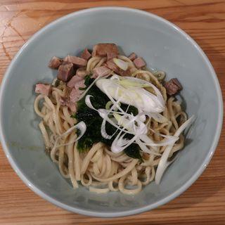 かきまぜそば(冷・太麺)