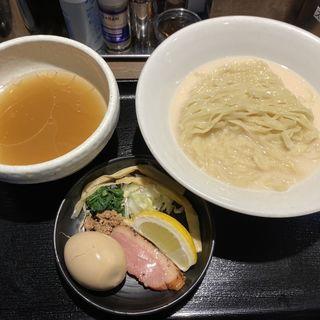 鴨出汁手揉み塩つけ麺(鴨出汁中華蕎麦麺屋yoshiki)