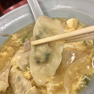 玉子スープ餃子(百老亭 今池店 )