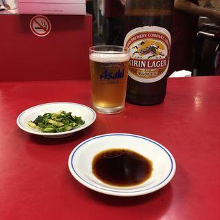 瓶ビール(キリンラガービール)