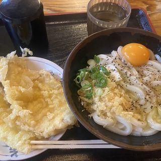 釜バターうどん(うどんバカ一代)