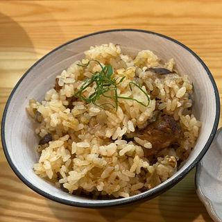 鯖炊き込みご飯(らーめん 彩哲 ~isato~)
