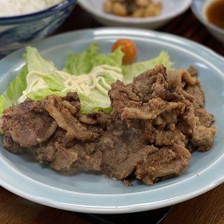 肉増しジン定食