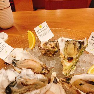 牡蠣 6種盛り