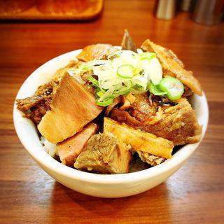 チャーシューご飯(純手打ち だるま )