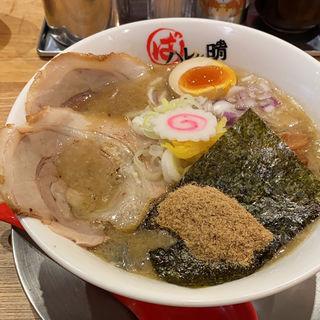 魚介豚骨ラーメンマイルド(ハレノチ晴)