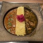 カレー2種盛り(ピワン (piwang))