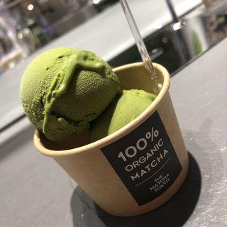 抹茶アイス(THE MATCHA TOKYO ルクア大阪)