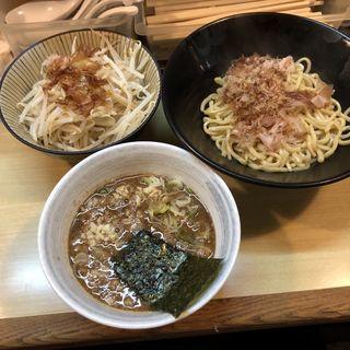 濃厚魚介つけ麺(笑福〇わ 梅田店)