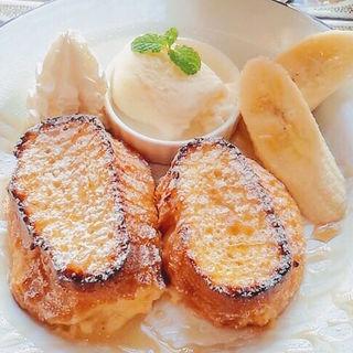 神楽坂フレンチトースト(プレーン)(シマダカフェ (SHIMADA CAFE))