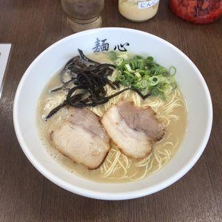 豚骨ラーメン(麺心)