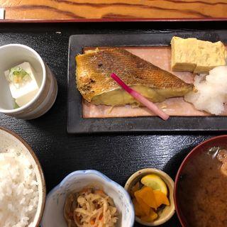 目抜西京焼(週替わり魚定食)