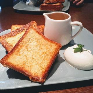 ブリオッシュフレンチトースト(マーサーブランチ ギンザテラス (MERCER BRUNCH))