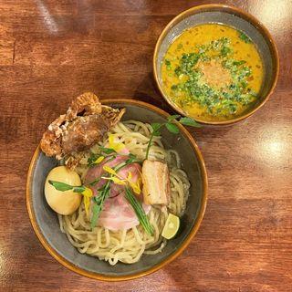 限定 カニつけ麺(海老丸らーめん)