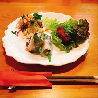 前菜3品(くにたちサイゴン桜 )