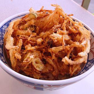 かき揚げ丼(越後そば・うどん)