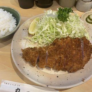 ロースカツ定食(丸一 )