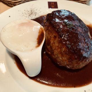 ハンバーグ モッツァレラチーズ×デミグラスソース(ハンバーグ ウィル (Hamburg Will))