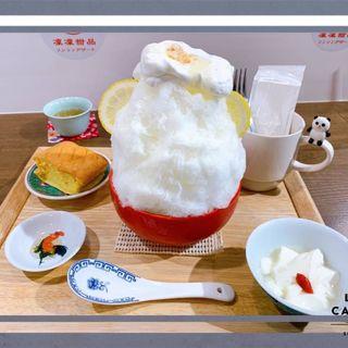 レモンチーズケーキ氷
