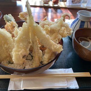 海鮮天丼(三日月庵 )