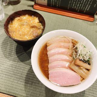 鴨コンフィ麺(チャーシュー)