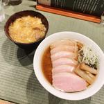 鴨コンフィ麺(チャーシュー)(らーめん 鴨to葱)