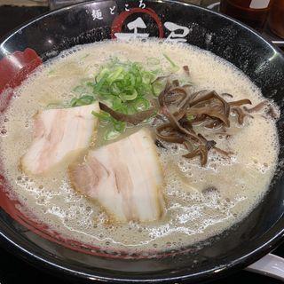 泡系濃厚とんこつラーメン(麺どころ 千屋 )