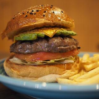 アボカドチーズバーガー(The Burgerlion-バーガリオン)