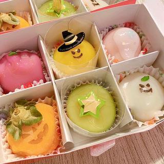 フルーツ餅 ハロウィン6個セット(松竹堂 )