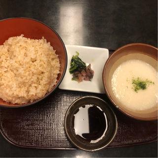 玄米とろろ飯