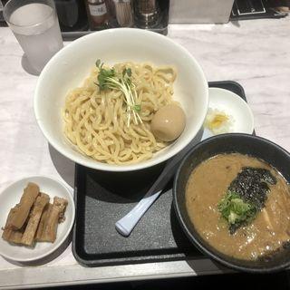 味玉魚介豚骨つけ麺(豚骨北堀江 SAKIMURA)