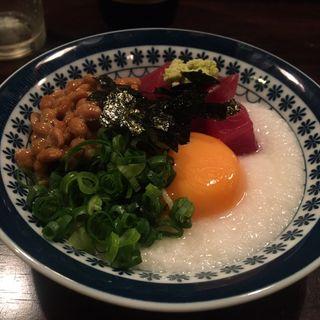 山かけヨコワ&ヤイトカツオ納豆(磯ノ海 )