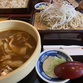 辛口カレー南蛮せいろ(丸屋)