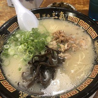 やる気ラーメン(博多三氣 松島原田店 (ハカタサンキ))