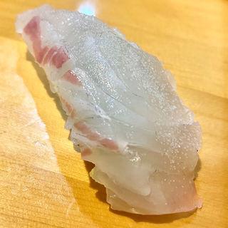真鯛ねぎ塩(握り)(手巻きハウス2丁目)