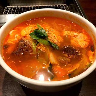 カルビ温麺