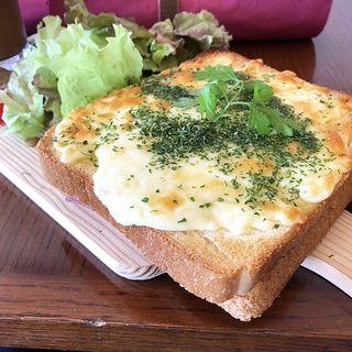 トースト(カワカフェ (kawa cafe))