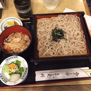 ざるそば定食(天一更科 (テンイチサラシナ))