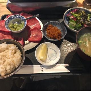 牛タン定食(四五六)